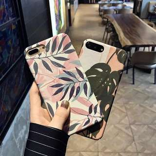 葉子印花iPhone殼 || Leaves Print iPhone Case 🌿