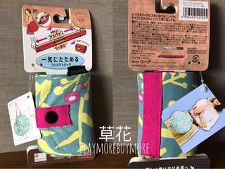 日本購-Shupatto 環保袋 花紋