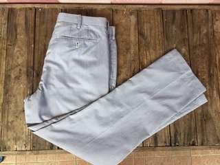 Uniqlo pants pinstripes