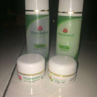 Theraskin paket acne white