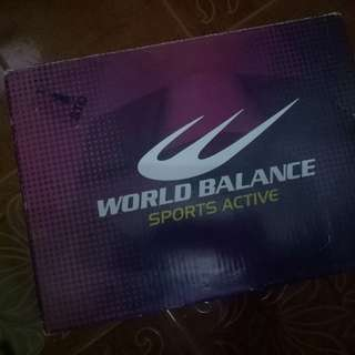 World balance rubber shoes