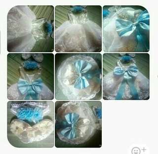 Baptismal gown with softband😊