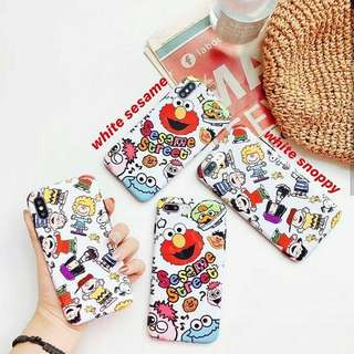 White Sesame/Snoopy Case (iph only)