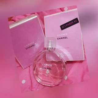 Change Eau Tendre Chanel Parfum Favoriiite Original 100% Lengkap dengan box  Order by wa: 081297772815