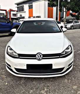 VW GOLF MK7 1.4 TURBO