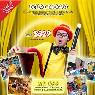 AWESOME DELUXE PARTY PACKAGE