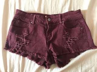 🚚 Zara牛仔短褲
