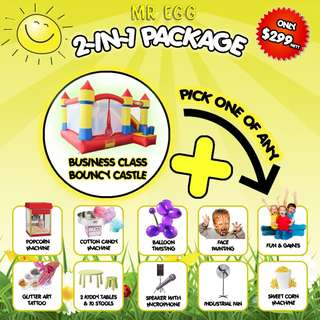AWESOME 2 IN 1 PARTY PACKAGE