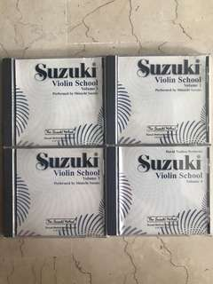 🚚 Suzuki Violin School Volume 1 to 4