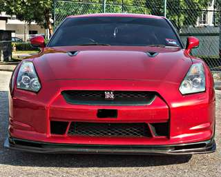 NISSAN SKYLINE GTR35 BLACK EDITION