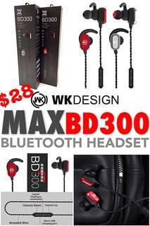 🚚 BD 300 sport Bluetooth Earphones NOW OFFER