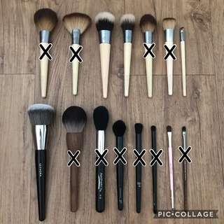 Brush Clearance - Ecotools, Etude House, Make Up For Ever, Elf, Aesthetica, Sephora