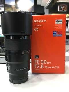 Sony 90mm F2.8 FE MACRO G OSS LENS