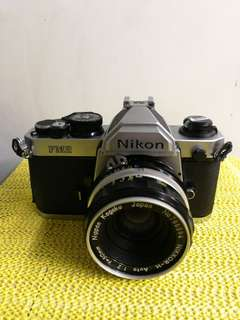 Nikon FM2 with 50mm F2 in great condition