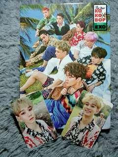 EXO The War Kokobop B Ver Korean Version Album