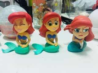 🚚 絕版funko 美人魚三胞胎 左邊2隻