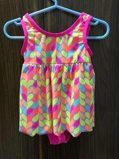 New-Osh Kosh B'Gosh Swim Suit Magenta