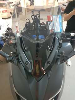 Givi XMAX  sports windshield