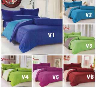Set 6 in 1 bedsheet comforter