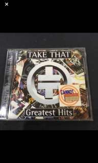 Cd box C1 - Take That Greatest Hits