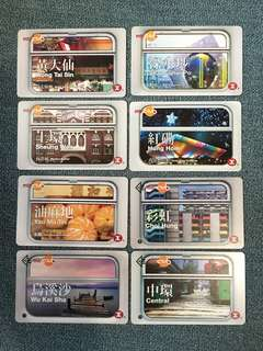 MTR Club 車站風景紀錄票