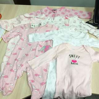 Take All Onesie for 0-3mos