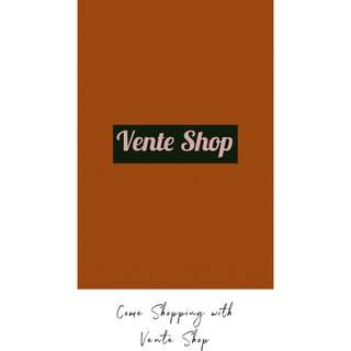 WELCOME TO VENTE SHOP