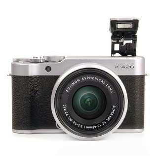 Dijual Camera Fujifilm XA20, Bisa Nyicil Tanpa Kartu Kredit
