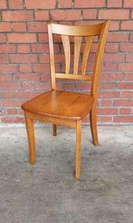 Solid Wood Chair (Rustic Oak)
