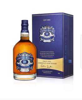 Chivas Regal 18years limited Edition First Fill American Oak