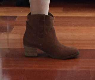 Sportsgirl Brown Leather Boots New Size 36