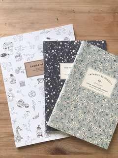 Artbox Korea Notebooks Set of 3