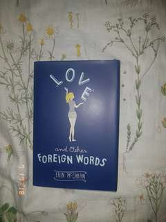 Love and Other Foreign Words novel