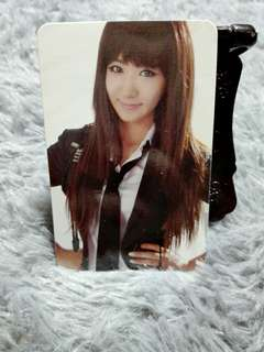 Girls Generation Yuri The Boys Official Photocard