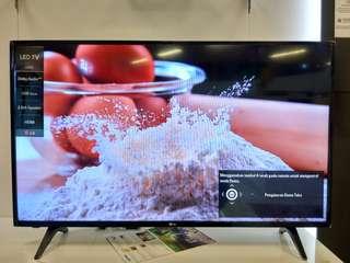 "LG LED 43"" Digital Flat TV Promo Free 1X Angsuran Tanpa CC"