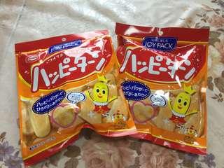 龜田製果 快樂王子仙貝 奶油口味
