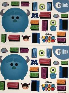 Limited edition brand new Disney Tsum Tsum Monster Inc. design Ezlink card for $6.90 EACH.