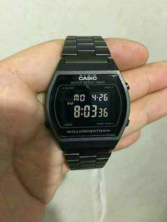 CASIO B640WB TRIPLE BLACK