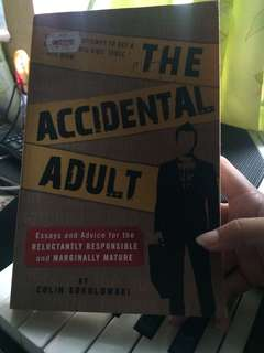 The Accidental Adult Book