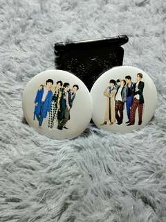 EXO Season Greeting Official Button Badge