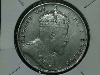 Silver Dollar Of King Edwards Vii 1907