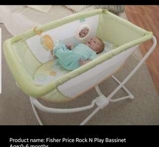 Fisher Price Rock and play bassinet