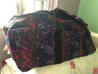 Brandless Aztec Duffle Bag