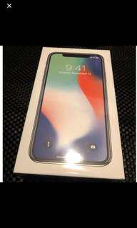iphone x 256 unsealed