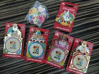 Disney pin trading - Pin Go 愛麗斯 徽章