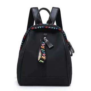 Black fashion back pack