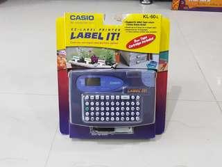 Casio Label Printer KL-60-L