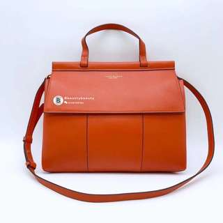 Tory Burch T Satchel - orange