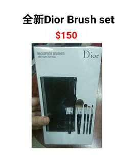 全新Dior Brush Set