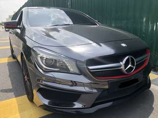 Mercedes Benz CLA 45 AMG 4matic 2016